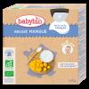 Brassé Mangue Baby dairy desserts - Babybio