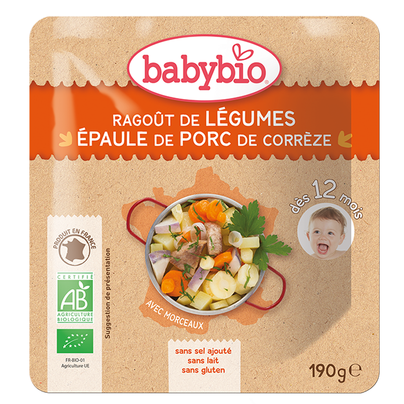 Ragoût de Légumes & Epaule de Porc de Corrèze