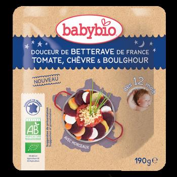 Douceur de Betterave de France Tomate Chèvre Boulghour