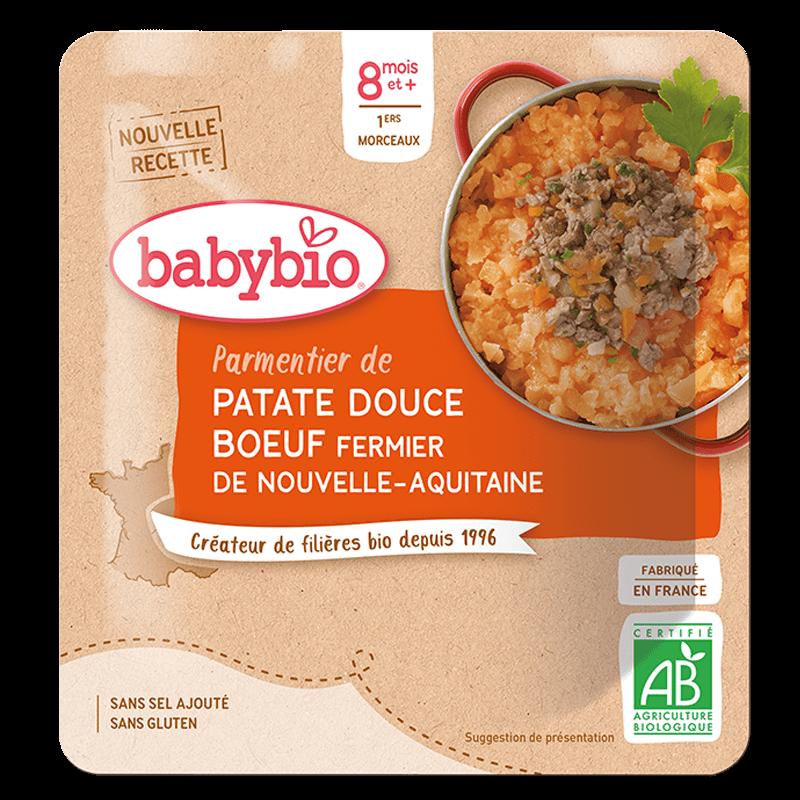 Parmentier de Patate douce Bœuf fermier de Nouvelle-Aquitaine
