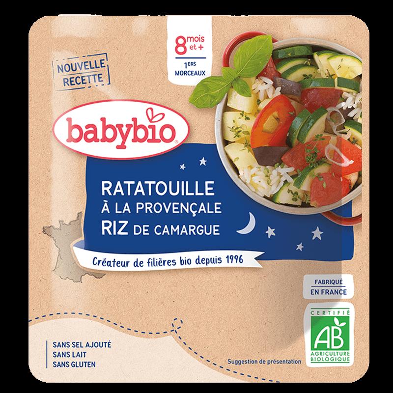 Babybio - Ratatouille à la Provencale & Riz de Camargue - Dès 8 mois