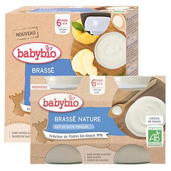 Desserts lactés bébé