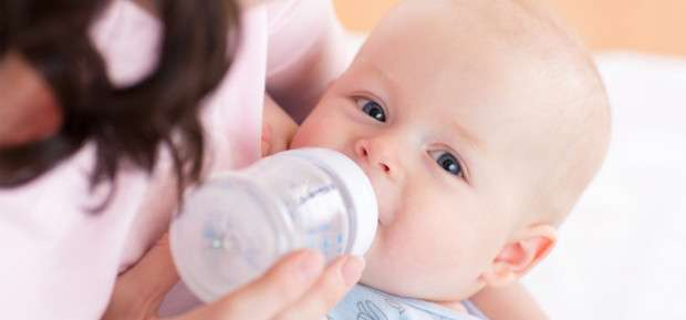 The right amount of infant milk for your baby