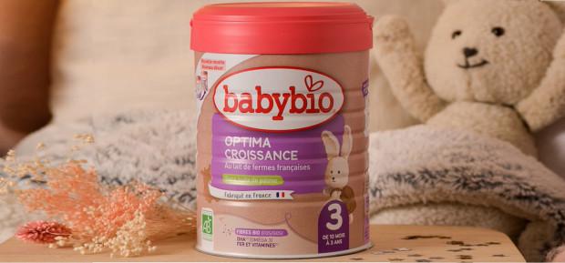Nos laits infantiles font peau neuve
