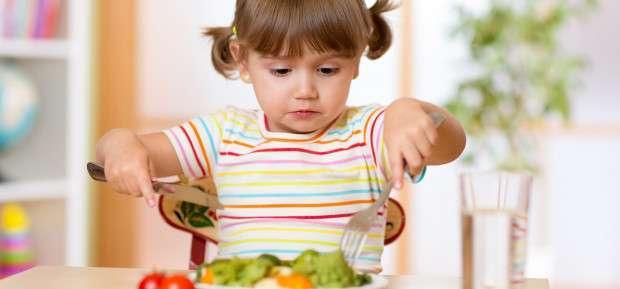 That's it, baby eats like grown-ups !