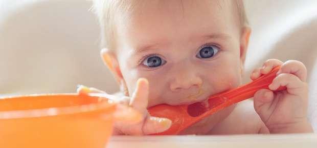 Un menu type pour votre bébé de 6 à 8 mois