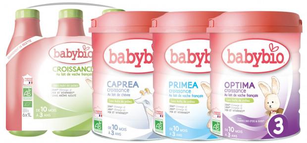 Pourquoi du lait Croissance pour Bébé ?