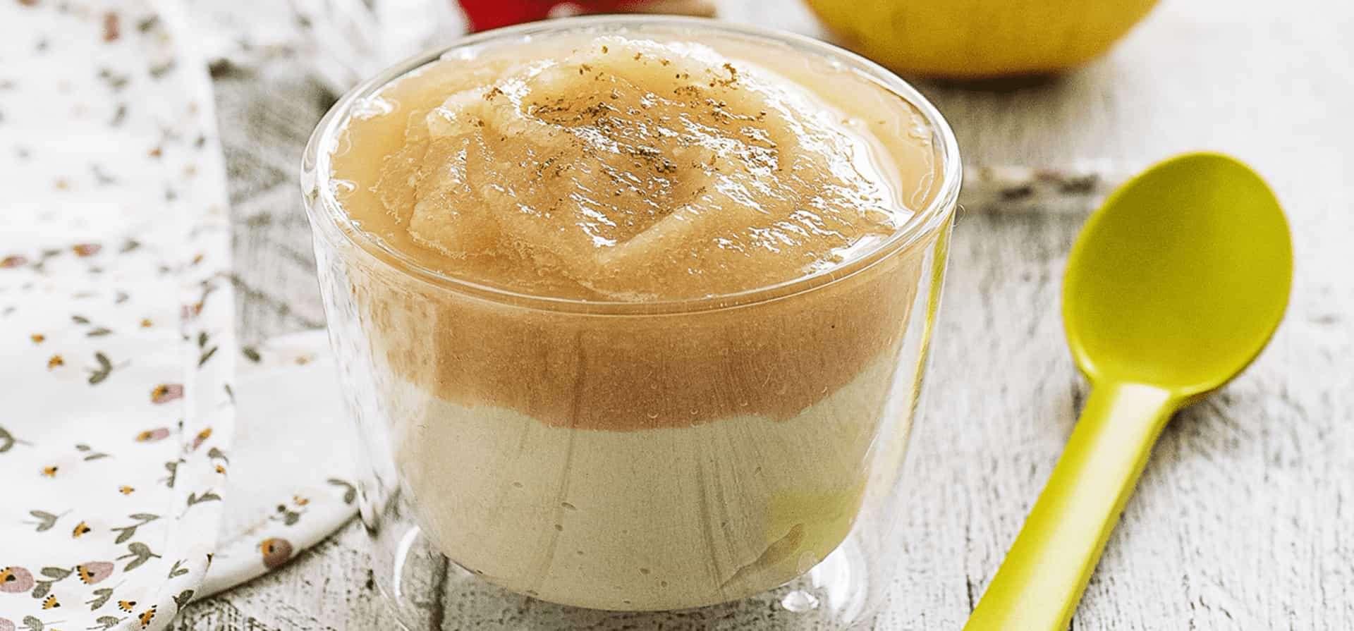 Recipe Pear-quinoa verrine