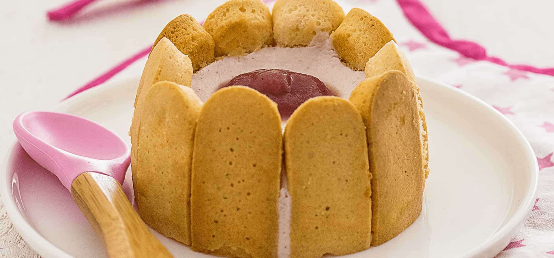 Recipe Mini strawberry charlotte