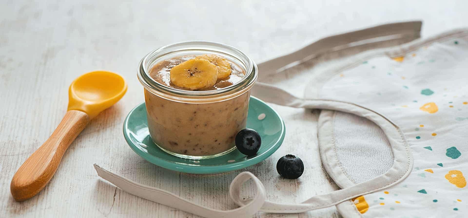 Recipe Banana and Blueberry Cream