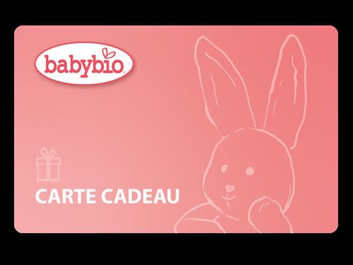 Carte Cadeau Babybio