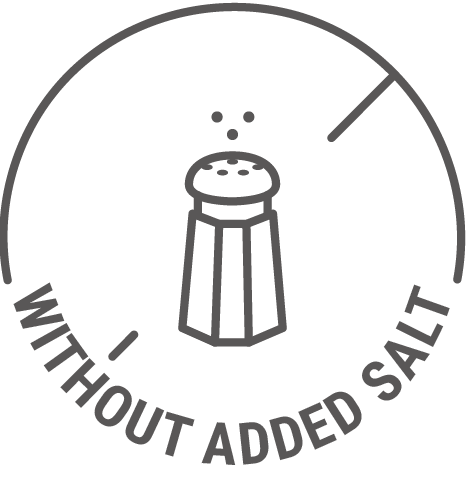 Without added salt